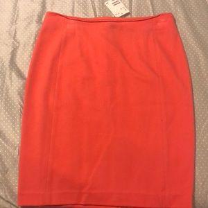 Peach colored pencil skirt H&M size 10 NWT
